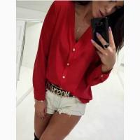 Женская стильная блузка Камилла. 6- цветов
