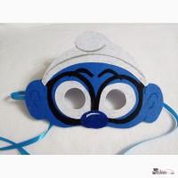 Карнавальные маски Смурфиков, гномов