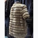 Молодежная норковая куртка автоледи по распродаже
