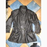 Большая женская кожаная куртка Echtes Leder. Германия. Лот 1028